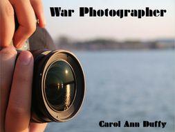War Photographer Carol Ann Duffy