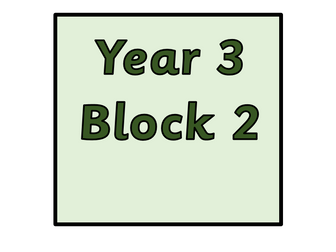 Year 3 - Block 2 Addition and Subtraction