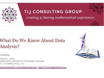 What Do We Know About Data Analysis?