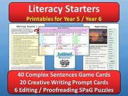Literacy Starters Year 5 / 6