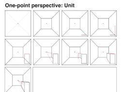Perspective Drawing Worksheets