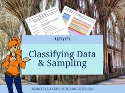 Classifying Data and Sampling Match Up