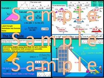 Non Right Angled Triangle Trigonometry - Chapter 9 - International Baccalaureate - Standard Level