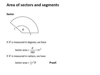 Edexcel New Linear Maths A Level Year 2 Topic 5: Radians
