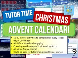 Tutor Time Advent Calendar