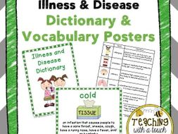 Illness and Disease Posters and Dictionary