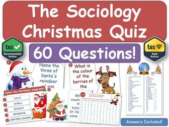 The Sociology Christmas Quiz!