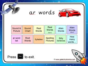 The 'ar' Phonics PowerPoint