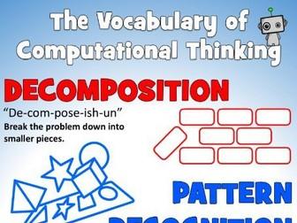 The Vocabulary of Computational Thinking