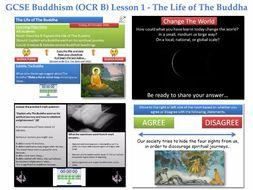 GCSE  Buddhism - Lesson 1 of 20 [The Life of the Buddha: The Four Sights, Nibbana, Nirvana, Mara]