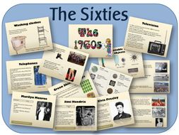 KS2 history topic: 1960s - Sixties powerpoint lessons