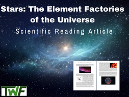 Stars Science Reading Article