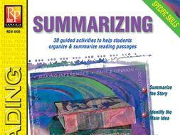 Summarizing: Specific Skills Series