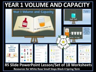 Volume and Capacity - Year 2 - Bundle - White Rose Maths Style