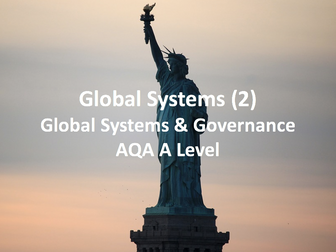 Global Systems (2) - AQA A Level Geography