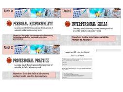 Pearson BTEC-Applied science-UNIT 2D-Complete bundle
