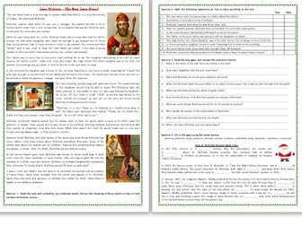The Story of Saint Nicholas – The Real Santa Claus - Reading Comprehension