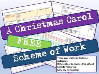 A Christmas Carol Scheme of Work
