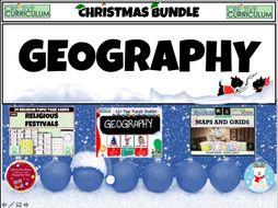 Geography Christmas Bundle