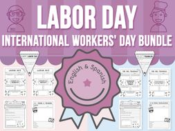 Labor Day - International Workers' Day BUNDLE