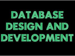 New National 5 Database Design and Development Slides (2017/18 onwards)