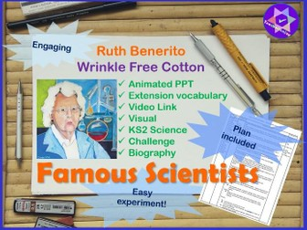 Ruth Benerito Year 5 Science Plan and Powerpoint