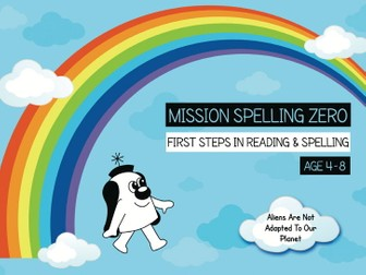 16. Phonics And Spelling Practice: Aliens Are Not Adapted For Earth