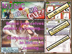Christmas Music Quiz 2019