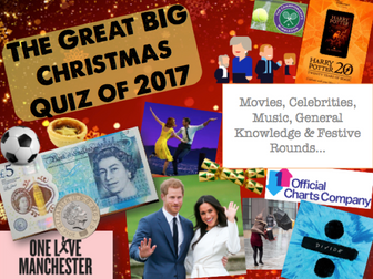 The BIG Christmas Quiz 2017