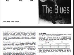 12-bar-blues fill-the-gaps booklet (for KS3)