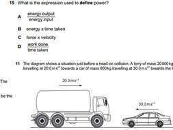 Physics AS Multiple Choice Questions OCR