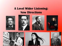 New Directions: Wider Listening Pack