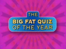 Big Fat Quiz Of The Year for Year 5