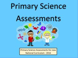 Primary Science Assessments and Tracking