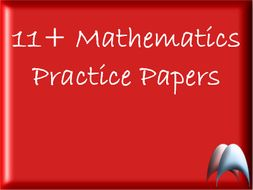 6 x Maths 11+ Practice papers