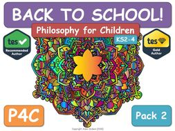 P4C - Back to School [Back to School - Philosophy P4C] 2 [RE RS RE RS]