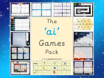 The 'ai' Phonics Games Pack (Phase 3)