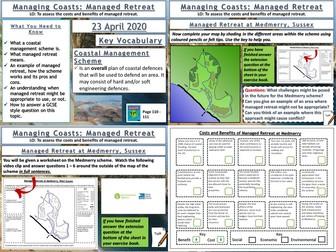 Coasts: Managed Retreat