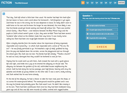 Wild Ground - Interactive Exercise - Year 6 Reading Comprehension (Fiction)