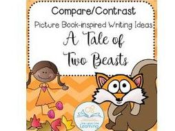 A Tale Of Two Beasts Comparecontrast Writing Prompt By Rebecca  A Tale Of Two Beasts Comparecontrast Writing Prompt