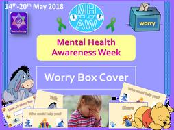 Mental Health Awareness Week 2018 Worry Box Cover
