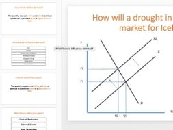 Demand and Supply Revision Lesson