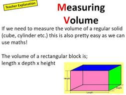 Volume and Density iGCSE/GCSE