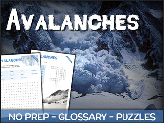 Avalanches - Puzzles & Glossary