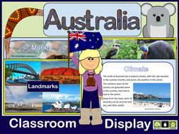 Australia Classroom Display Pack KS2