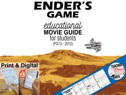 ender s game movie guide pg13 2013 by travis82 teaching