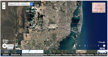 Timelapse : 32 Years of the Changing Planet #Google Earth