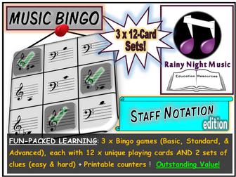 MUSIC BINGO Notation