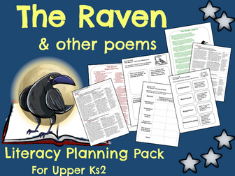 'The Raven' Poetry Planning