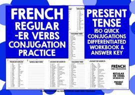 FRENCH--ER-VERBS-PRESENT-TENSE.zip